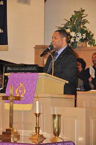 Host Pastor Anthony Steele  St Paul AME, Wichita Ks.