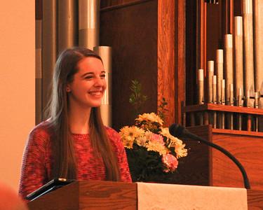 Trinity Lutheran, Family photos, Plus 4 Youth speakers