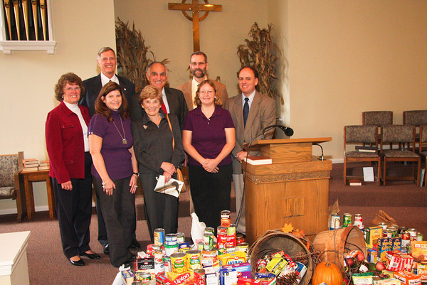 Vermilion's Evangelical and Reformed Church has a Dinner with Sam Rutigliano, October 31, 2010.