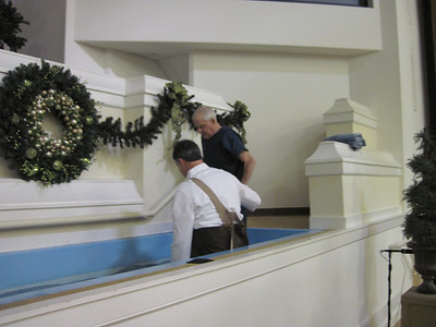 Mr. Joe Brantley's Baptism