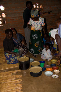 Vita-Meal porridge served, thanks to The Malawi Project.