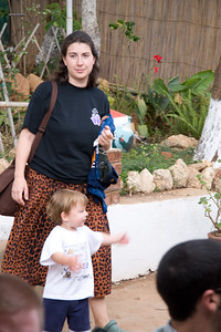 Amanda Gunn with son, Taylor from Landmark church in Montgomery, AL.