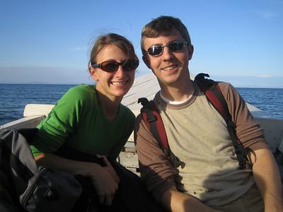 Jonathan and Amanda Savage
