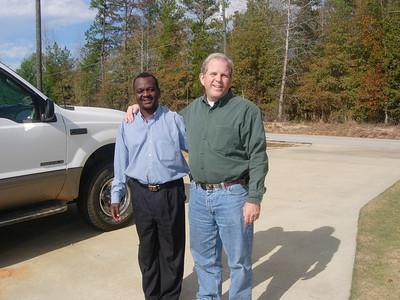 Moses Banda & Adrian Freeman - visit to Auburn, AL