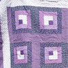 "2010 Quilting Fundraiser: Quilt P1040164. 61"" x 83"" (double) $250 DETAIL"