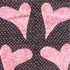 """2010 Quilting Fundraiser: Quilt P1040170. 48"""" x 59"""" (adult lap quilt) $110 DETAIL"""