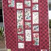"""2010 Quilting Fundraiser: Quilt P1040175. 47"""" x 62"""" (adult lap quilt) $220"""