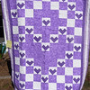 """2010 Quilting Fundraiser: Quilt P1040165. 64"""" x 87"""" (double) $280"""