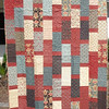"""2010 Quilting Fundraiser: Quilt P1040177. 49"""" x 67"""" (adult lap quilt) $225"""