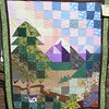 "2010 Quilting Fundraiser: Quilt P1040168. 51"" x 59"" (adult lap quilt or wall hanging) $280"