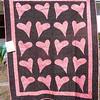 """2010 Quilting Fundraiser: Quilt P1040170. 48"""" x 59"""" (adult lap quilt) $110"""