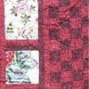 """2010 Quilting Fundraiser: Quilt P1040175. 47"""" x 62"""" (adult lap quilt) $220 DETAIL"""