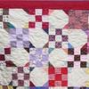 """2010 Quilting Fundraiser: Quilt P1040166. 66"""" x 77"""" (adult lap quilt) $75 DETAIL"""