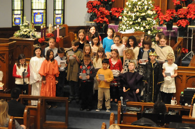 St Pauls Christmas Pagent 2012