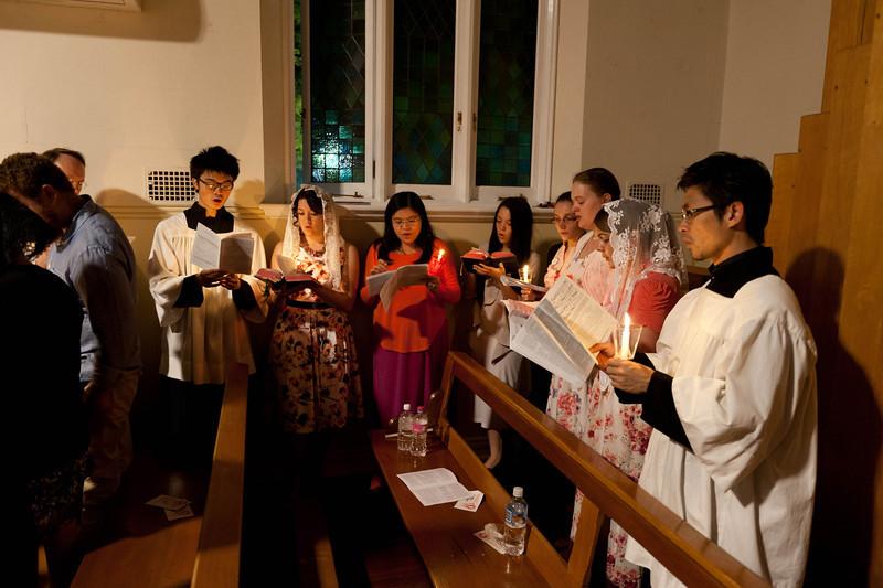 Choir @ Easter Vigil & Midnight Mass