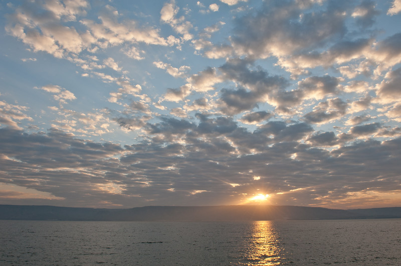 Galilee Sunrise