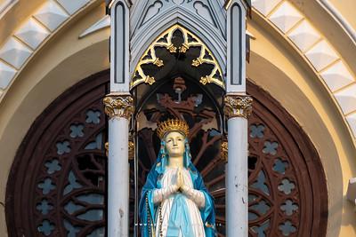 Virgin Mary Statue at Holy Rosary Church (Kalawar)