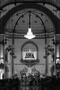 Christmas Eve at Holy Rosary Church, Bangkokลูกประคำ (วัดกาลหว่าร์)
