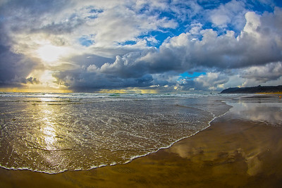 Cannon Beach Sunset Wide