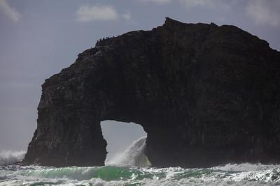 Twin Rocks Waterfall