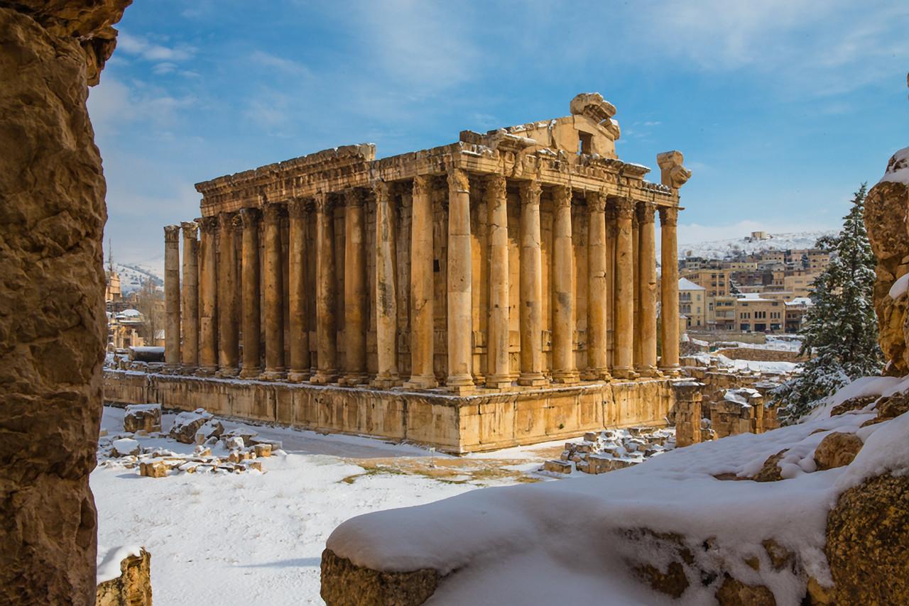 Temple of Baachus