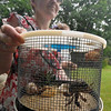 Blessing of the pets at Plum Creek Park.  Even Hermit Crabs, all of whom had names.