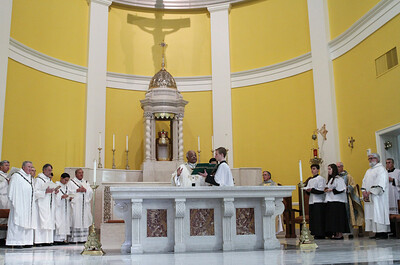 Mass of Dedication for Mary Our Queen Church