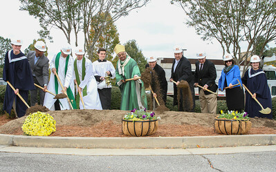 Groundbreaking @ Mary Our Queen Church
