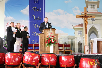 Holy Vietnamese Martyrs Church Groundbreaking