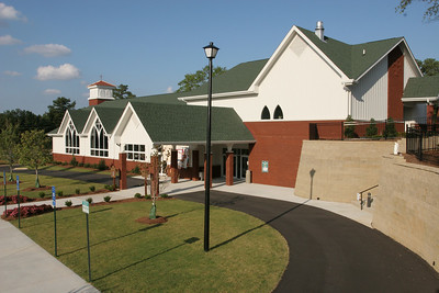 The new St. Matthew Church, Winder, is a product of the combined efforts of George Havenka, the architect, Ron Cantrell and Associates, the builder, and Catholic Construction Services, Inc.