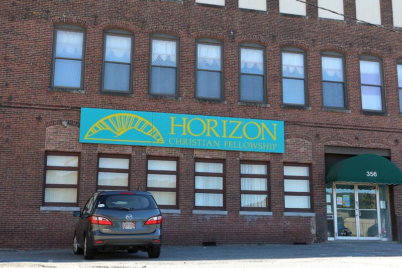 Horizon Christian Fellowship at 356 Broad Street in Fitchburg. SENTINEL & ENTERPRISE/JOHN LOVE