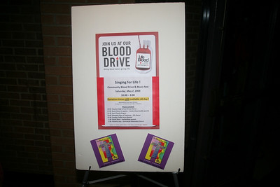 Blood Drive - Music Fest and Boy Scout Car Wash 5/2/2009