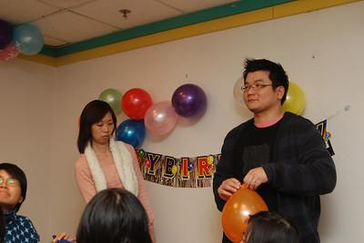 正正一歲生日會@愉城KFC(2008年3月2日)