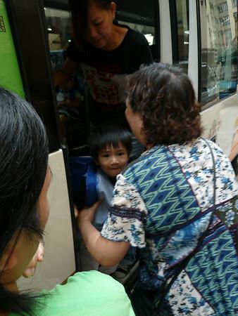諾諾仔放學(2009年9月8日)