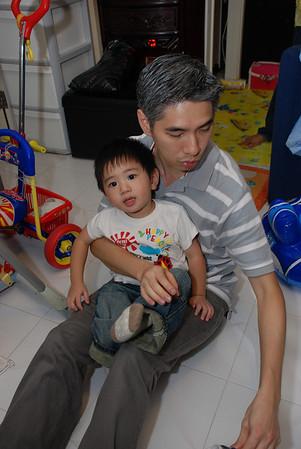 諾諾兩歲生日會@灝景灣Club House (2008年10月11日)