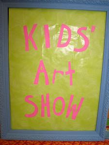 Kid's Art Show