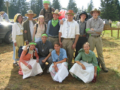 2004 Youth Conference - Pioneer Trek, Company #4