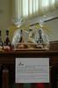 Een mooi setje flesjes wijn ter gelegenheid van het jubileum...