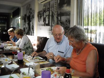 2009-07-07 uit eten met Boekwinkel De Smidse