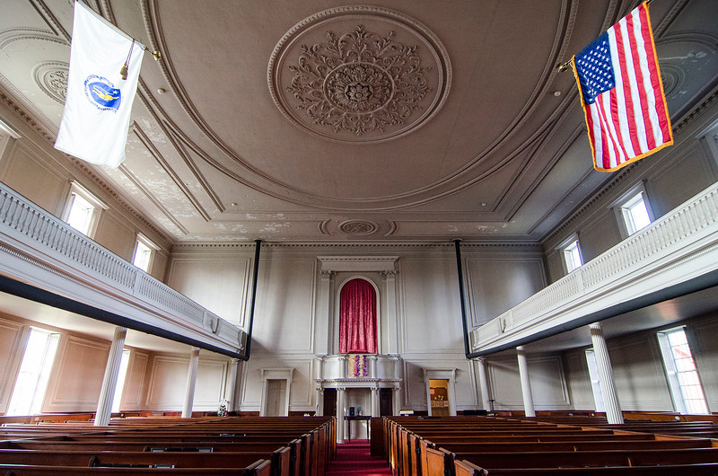First Church of Christ Unitarian in Lancaster is celebrating it's 200th year. The church was founded in 1816. SENTINEL & ENTERPRISE / Ashley Green