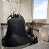 The bell inside the cupola at First Church of Christ Unitarian in Lancaster, manufactured by the Paul Revere Company in 1822. The church is celebrating it's 200th year and was founded in 1816. SENTINEL & ENTERPRISE / Ashley Green