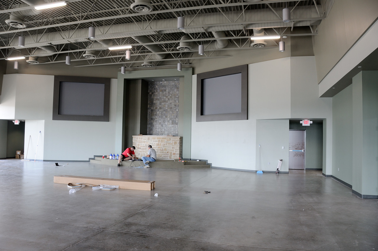 6/2 - Projector Screens are Up