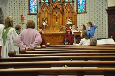 2013 - February Church Youth Led Service