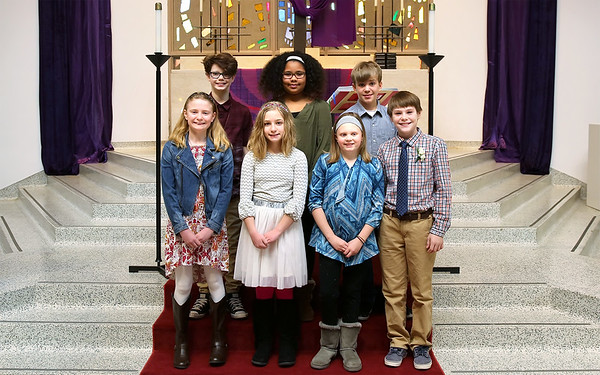 First Communion (March 5)