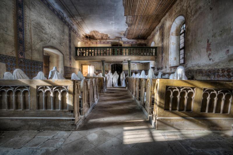 Praying ghosts