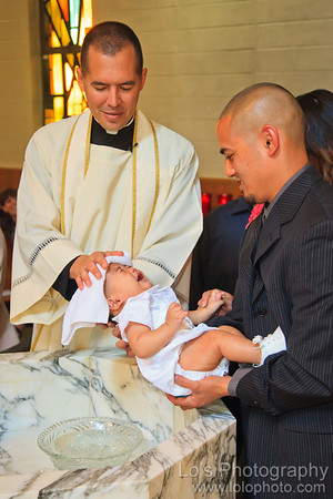 Patrick's Baptism and Party