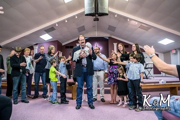 2014-05-25 Hadassah Baby Dedication