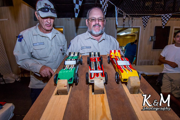 2014-08-10 Royal Rangers Pine Car Derby