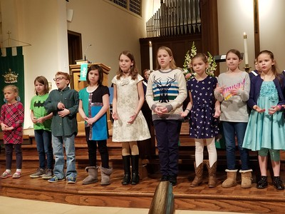 Childrens Choir January 21 2018