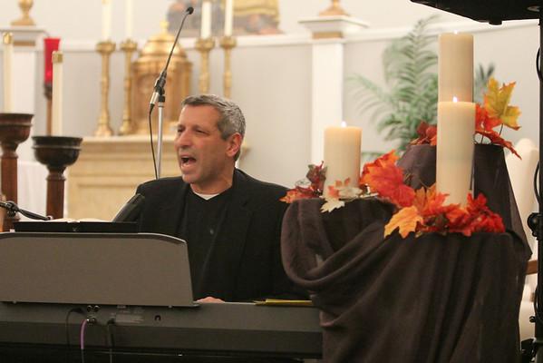 Parish Mission: Vince Ambrosetti November 2012